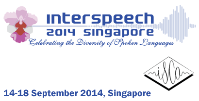 InterSpeech 2014 - celebrating the diversity of spoken languages