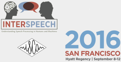 InterSpeech 2016 - Understanding Speech Processing in Humans and Machines