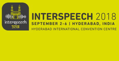 InterSpeech 2018 - Speech Research for Emerging Markets in Multilingual Societies