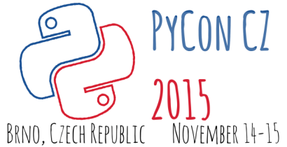 PyCon CZ 2015 - The very first PyCon in the Czech Republic