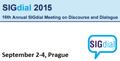 SIGdial 2015 - 16th Annual SIGdial Meeting on Discourse and Dialogue